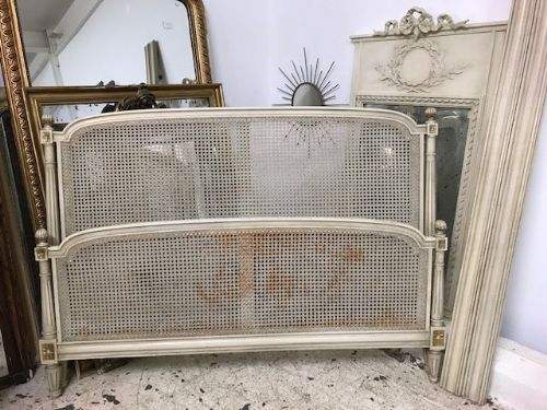 Rare Cane King Size French Bed -  sw90